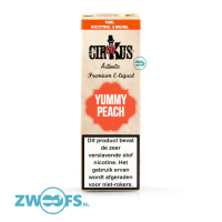 Cirkus The Authentics - Yummy Peach E-liquid