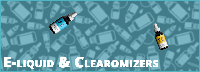 e-liquid en clearomizers